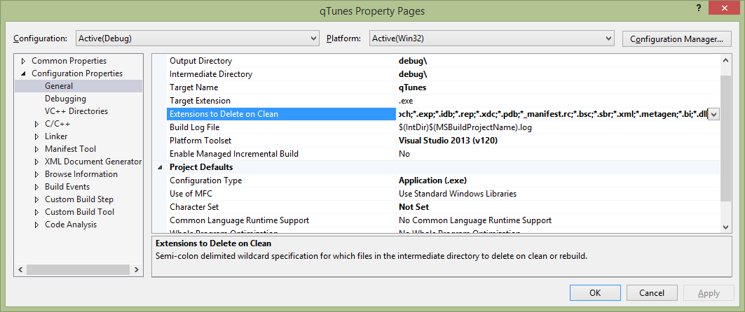 TagLib and ZLib for Microsoft Visual Studio 2013 – hohmanjl